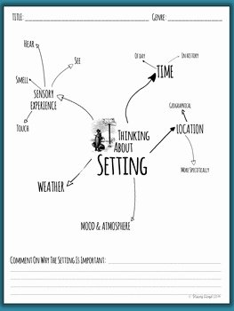 Literary Devices Worksheet Pdf Inspirational Setting Literary Element 5 Worksheets by Stacey Lloyd
