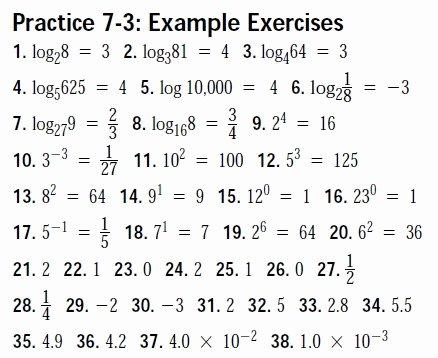 Logarithm Worksheet with Answers Awesome Algebra Ii Trig Worksheet Answer Keys Mhshs Wiki