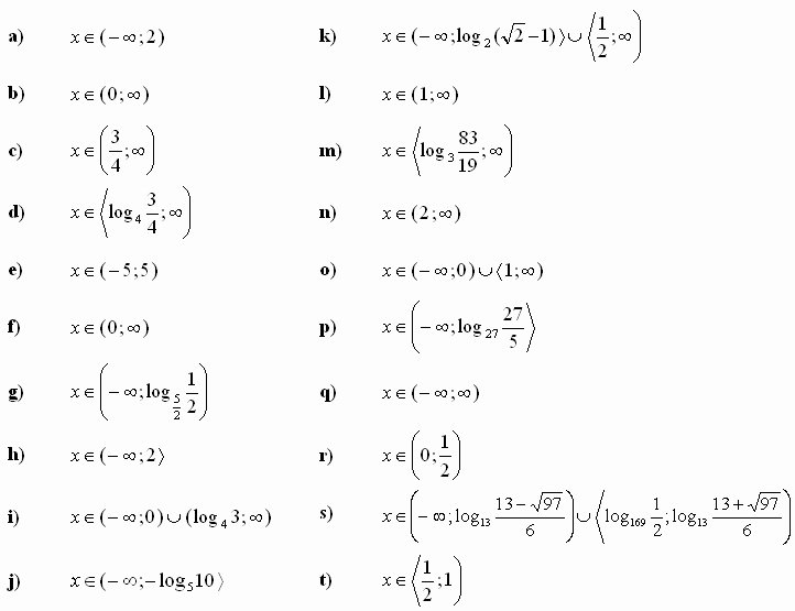 Logarithmic Equations Worksheet with Answers Beautiful Exponential Equations Worksheet