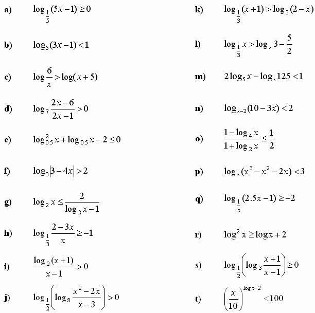 Logarithmic Equations Worksheet with Answers Elegant Exponential Equations Worksheet