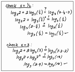 Logarithmic Equations Worksheet with Answers New Openalgebra solving Logarithmic Equations