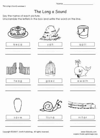 Long A sound Words Worksheet Beautiful 41 Best Images About Homework and Worksheets On Pinterest