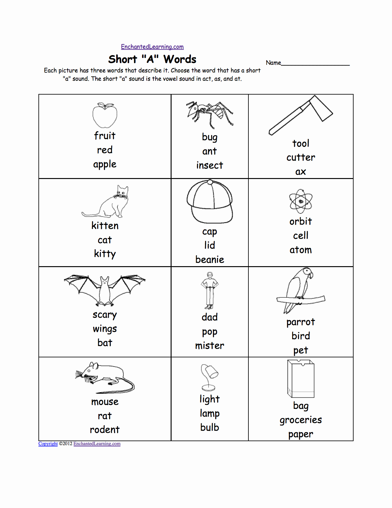 Long A sound Words Worksheet Best Of 15 Best Of Short E Phonics Worksheets Long E