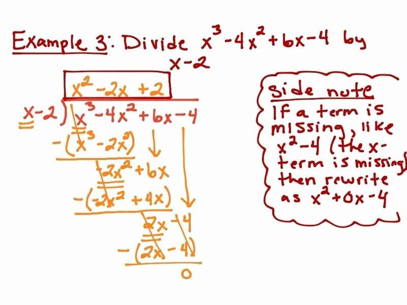 Long Division Polynomials Worksheet Inspirational Long Division Polynomials Worksheet Free Printable