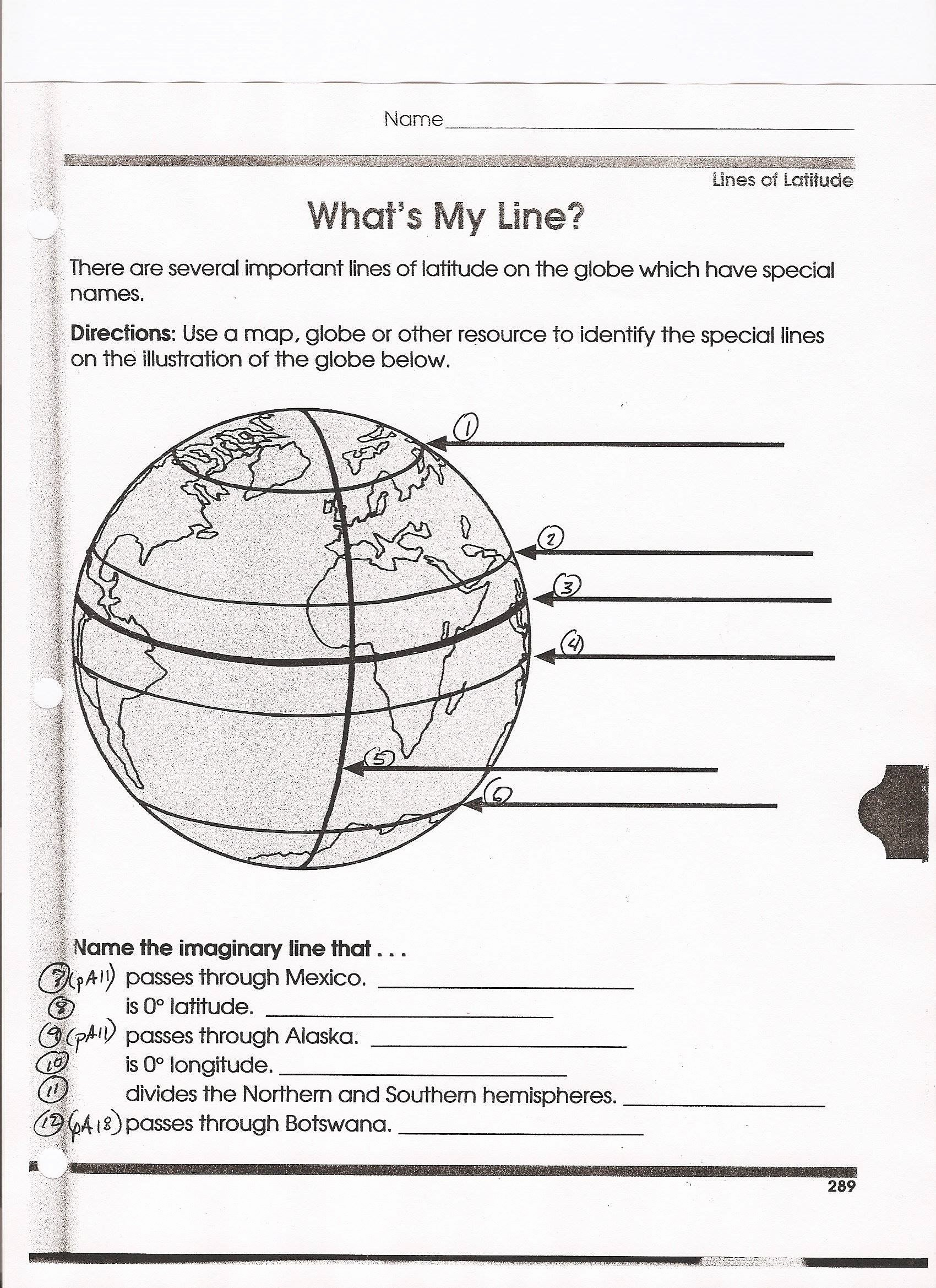 Longitude and Latitude Worksheet Lovely 43 Latitude Longitude Worksheet Latitude and Longitude