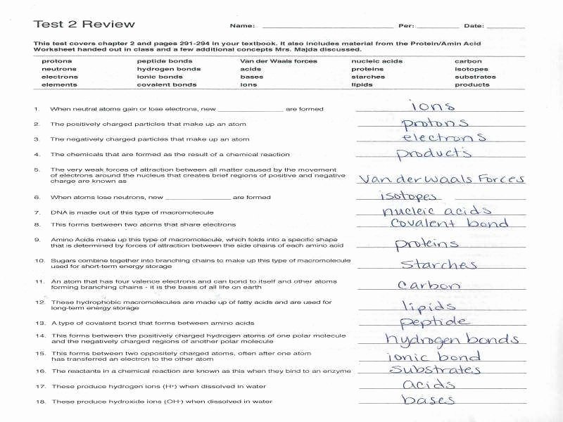 Macromolecules Worksheet High School Luxury Macromolecules Worksheet