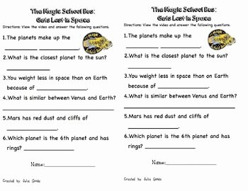 Magic School Bus Worksheet Awesome 29 Best Images About Magic School Bus On Pinterest