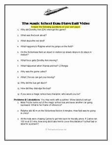 Magic School Bus Worksheet Elegant Magic School Bus Lesson Plans & Worksheets Reviewed by