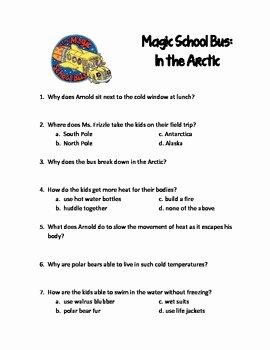 Magic School Bus Worksheet Luxury Magic School Bus In the Arctic by Lori Stidham