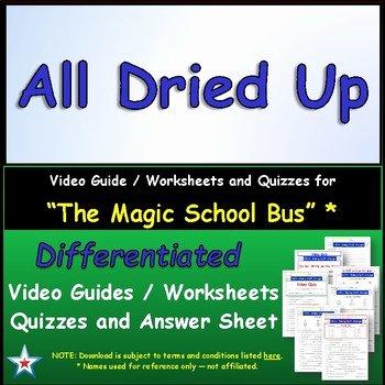 Magic School Bus Worksheet Unique Differentiated Worksheet Quiz Ans for Magic School Bus