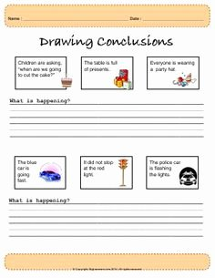 Making Conclusions Geometry Worksheet Answers Beautiful Drawing Conclusions Worksheets