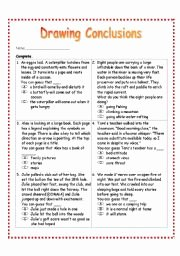 Making Conclusions Geometry Worksheet Answers Elegant Draw Conclusions Worksheet 2nd Grade the Best Worksheets