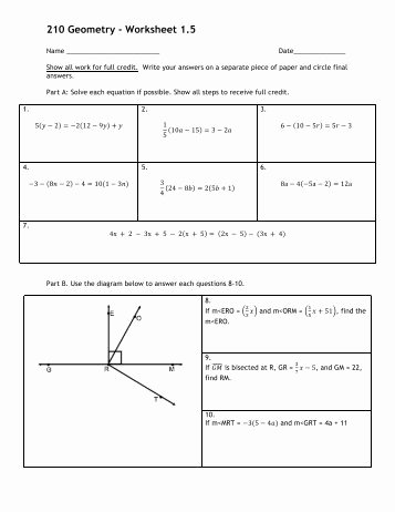 Making Conclusions Geometry Worksheet Answers Elegant Geometry Name Proof Worksheet 3 Date 1 Given â 3 â â