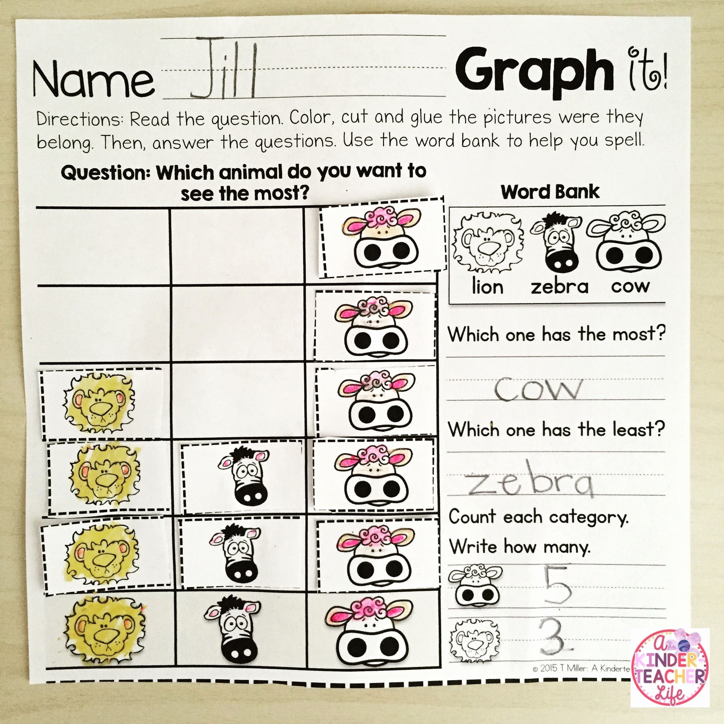 Making Conclusions Geometry Worksheet Answers Unique Survey and Graph A Kinderteacher Life