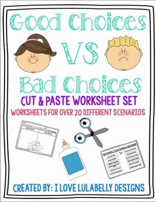 Making Good Choices Worksheet Best Of 23 Best Making Choices Images On Pinterest