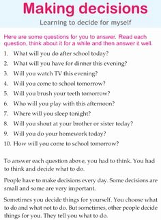 Making Good Choices Worksheet Luxury 1000 Images About Decision Making On Pinterest