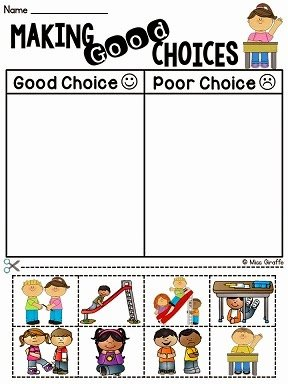 Making Good Choices Worksheet New Miss Giraffe S Class How to Tackle Tattling In the Classroom