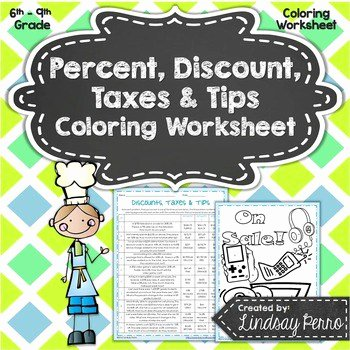 Markup and Discount Worksheet New Shopping with Decimals and Percent Increase Decrease Round
