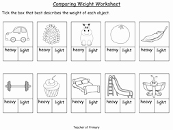 Mass and Weight Worksheet Best Of Paring Weight Year 1 Powerpoint Presentation and