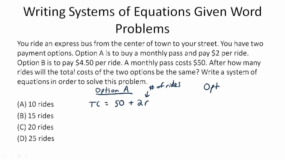 Matrices Word Problems Worksheet Awesome Applications Of Linear Systems