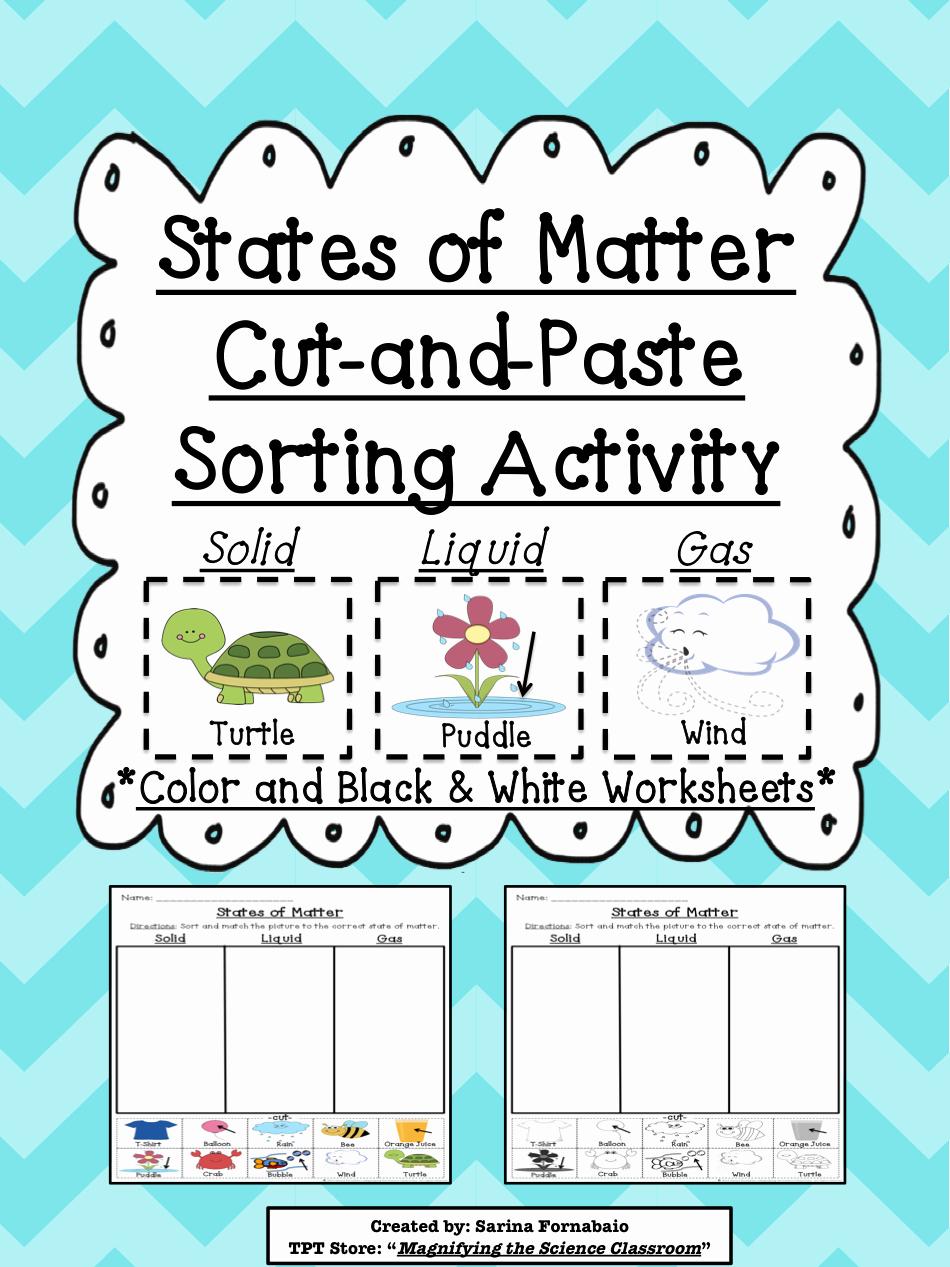 Matter and Energy Worksheet Inspirational Worksheet States Matter Worksheets Grass Fedjp
