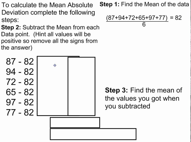 Mean Absolute Deviation Worksheet Awesome 17 Best Images About Variability On Pinterest