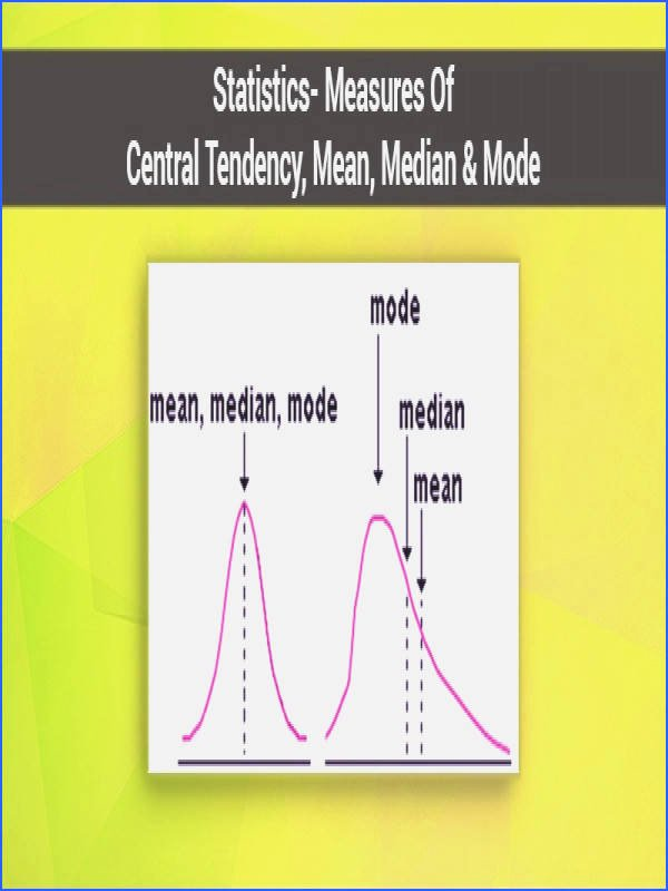 Measure Of Central Tendency Worksheet Beautiful Measures Central Tendency Worksheet