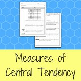 Measures Of Central Tendency Worksheet Best Of Measures Central Tendency Worksheet Teaching Resources