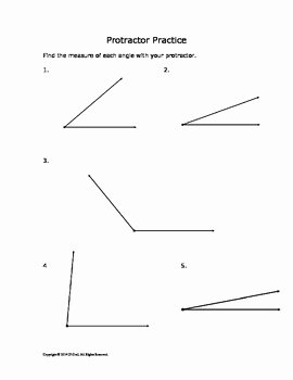 Measuring Angles Worksheet Pdf Awesome Measuring Angles Protractor Practice by P Dot