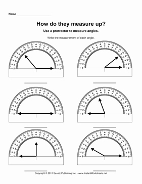 Measuring Angles Worksheet Pdf Lovely Protractor Angles