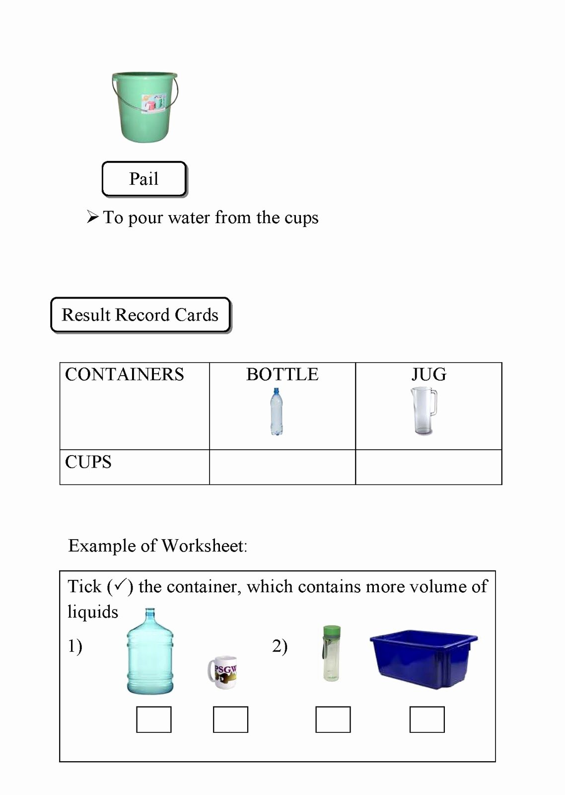 Measuring Liquid Volume Worksheet Beautiful Volume Of Liquid Measurement Of Volume Of Liquid
