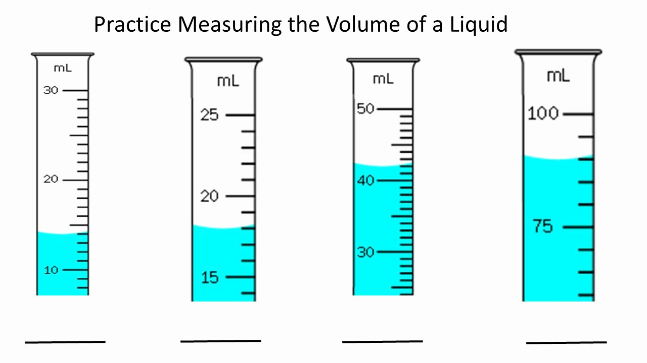 Measuring Liquid Volume Worksheet Beautiful Volume Worksheet Graduated Cylinder