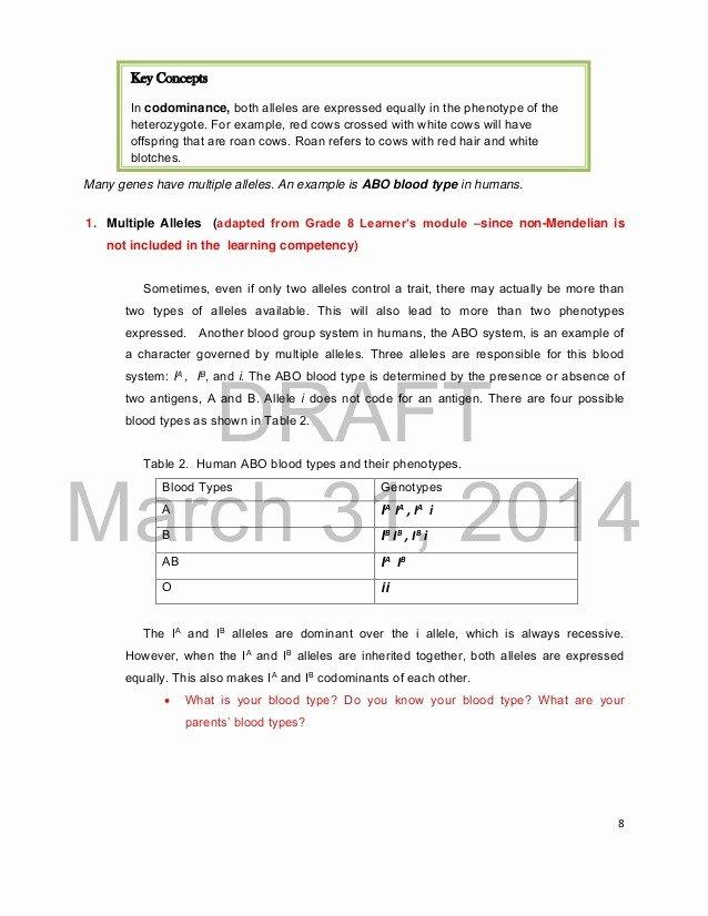 Mendelian Genetics Worksheet Answer Key Beautiful 25 Lovely Mendelian Genetics Worksheet Answer Key