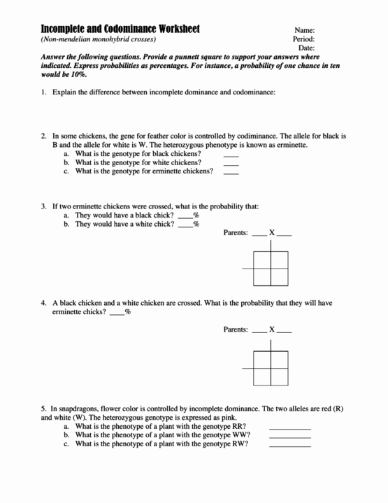 Mendelian Genetics Worksheet Answers Elegant Mendelian Genetics Worksheet Answers the Best Worksheets