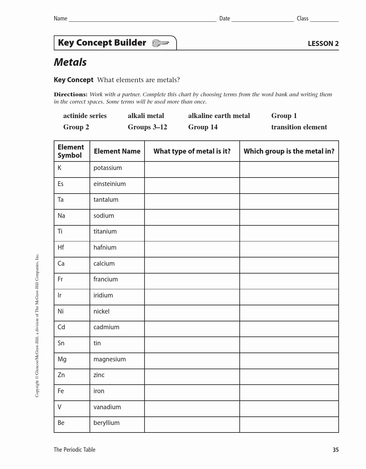Metals Nonmetals and Metalloids Worksheet Luxury Worksheet Metals Nonmetals Metalloids Worksheet