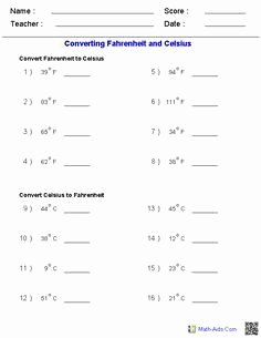 Metric Conversion Worksheet Answer Key Fresh Metric Conversion Worksheet E Answer Key