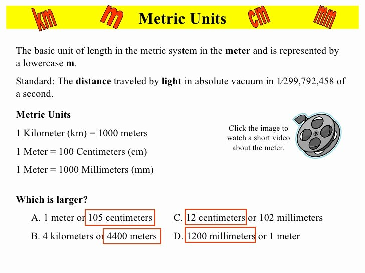 Metric Mania Worksheet Answers Beautiful Metric Mania Notes