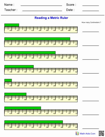 Metrics and Measurement Worksheet Answers Elegant Measurement Worksheets with Answer Sheet I Teachersherpa