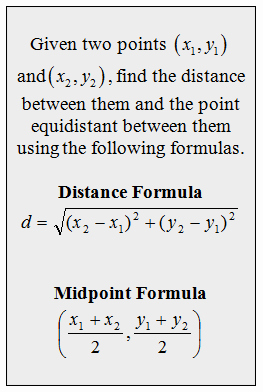 Midpoint and Distance formula Worksheet New Openalgebra Distance and Midpoint formulas