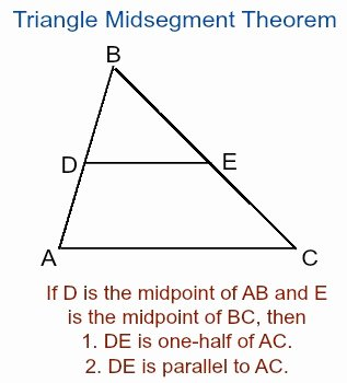 Midsegment Of A Triangle Worksheet Awesome Proving the Triangle Midsegments theorem