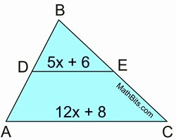 Midsegment Of A Triangle Worksheet Best Of Midsegment Practice Mathbitsnotebook Geo Ccss Math