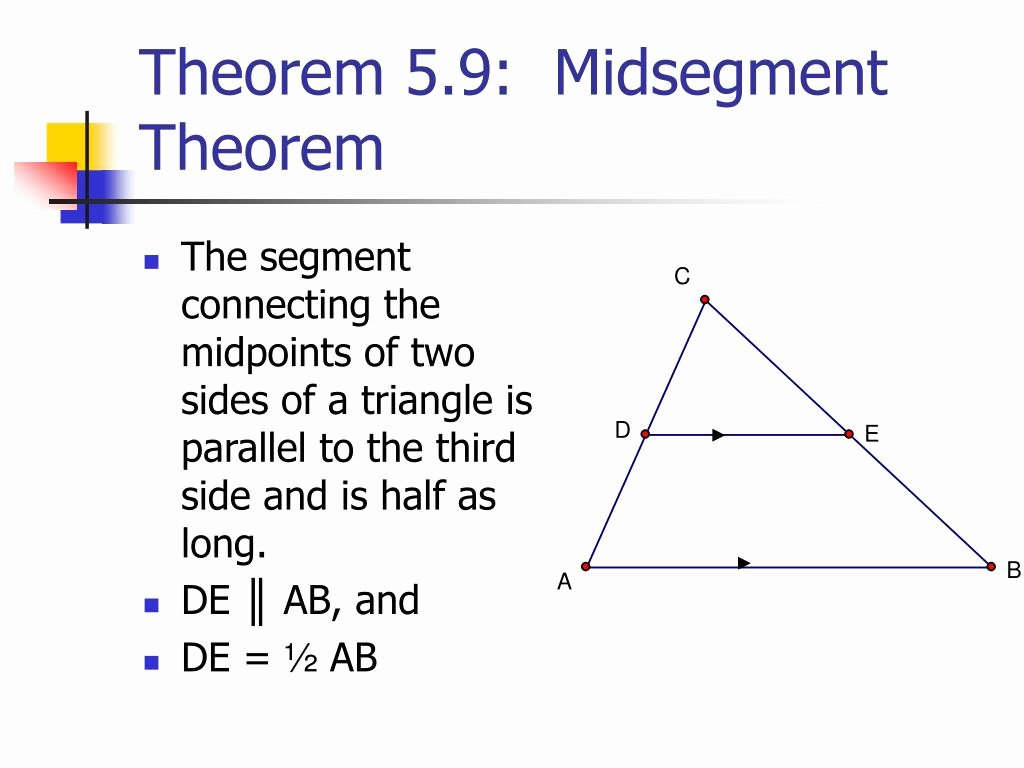 Midsegment Of A Triangle Worksheet Elegant Midsegment theorem Definition Fuzzbeed Hd Gallery
