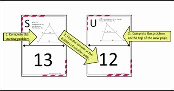 Midsegment theorem Worksheet Answer Key Elegant Midsegment theorem In Triangles Scavenger Hunt Activity by