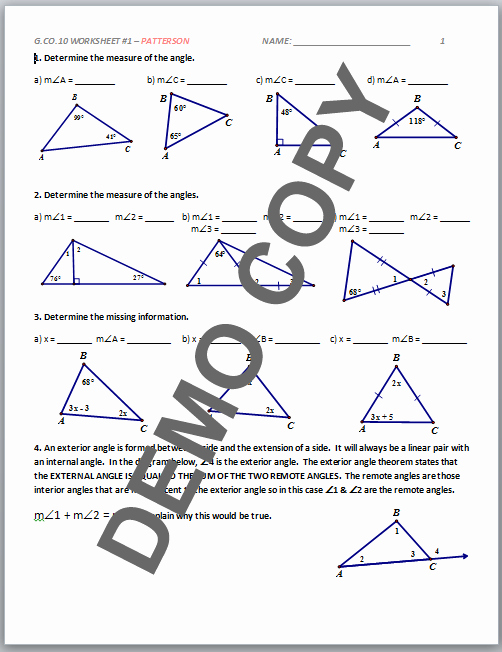 Midsegment theorem Worksheet Answer Key Elegant Triangle Midsegment Worksheet Pdf Newsdn