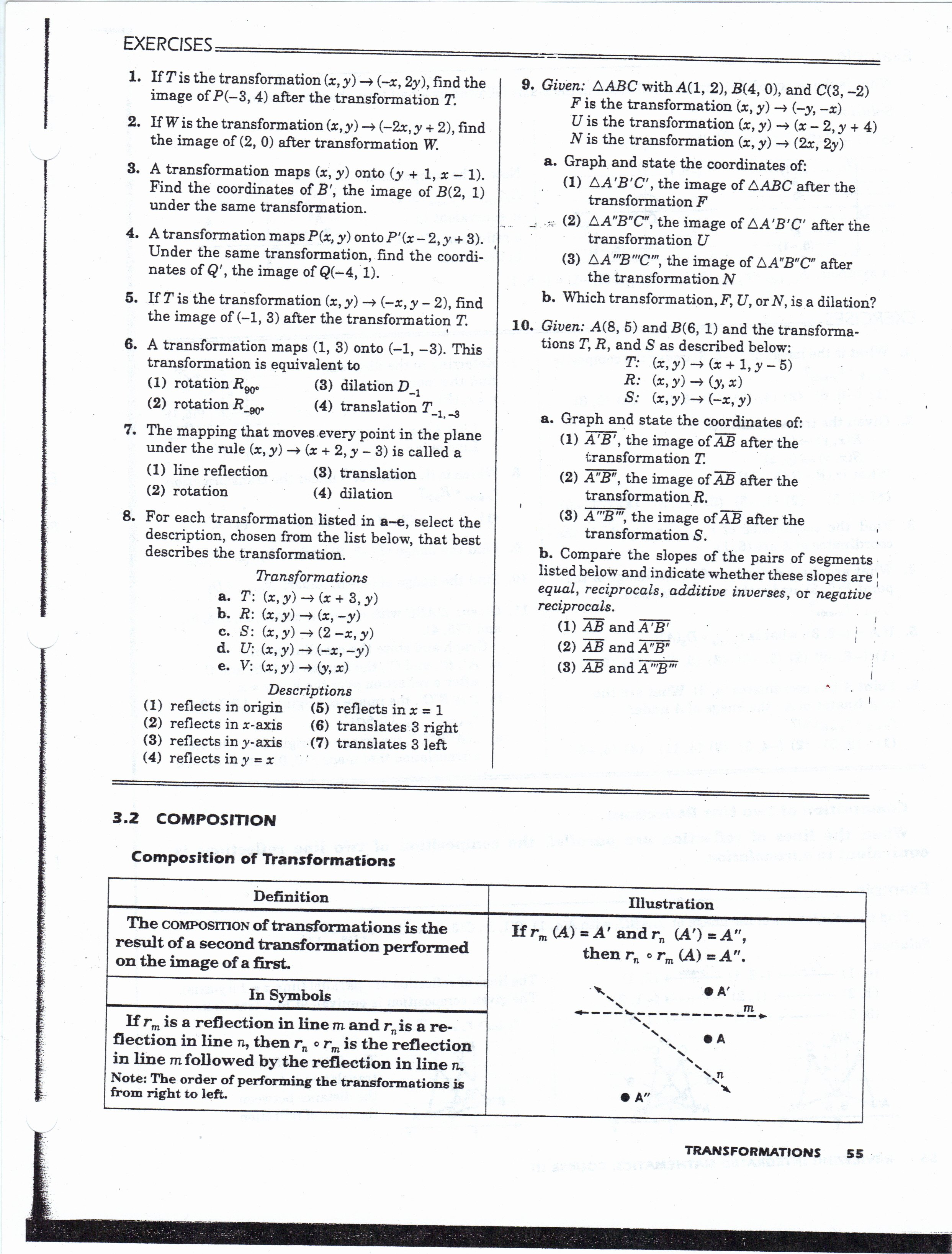 Midsegment theorem Worksheet Answer Key Lovely Geometry Worksheets Mhshs Wiki