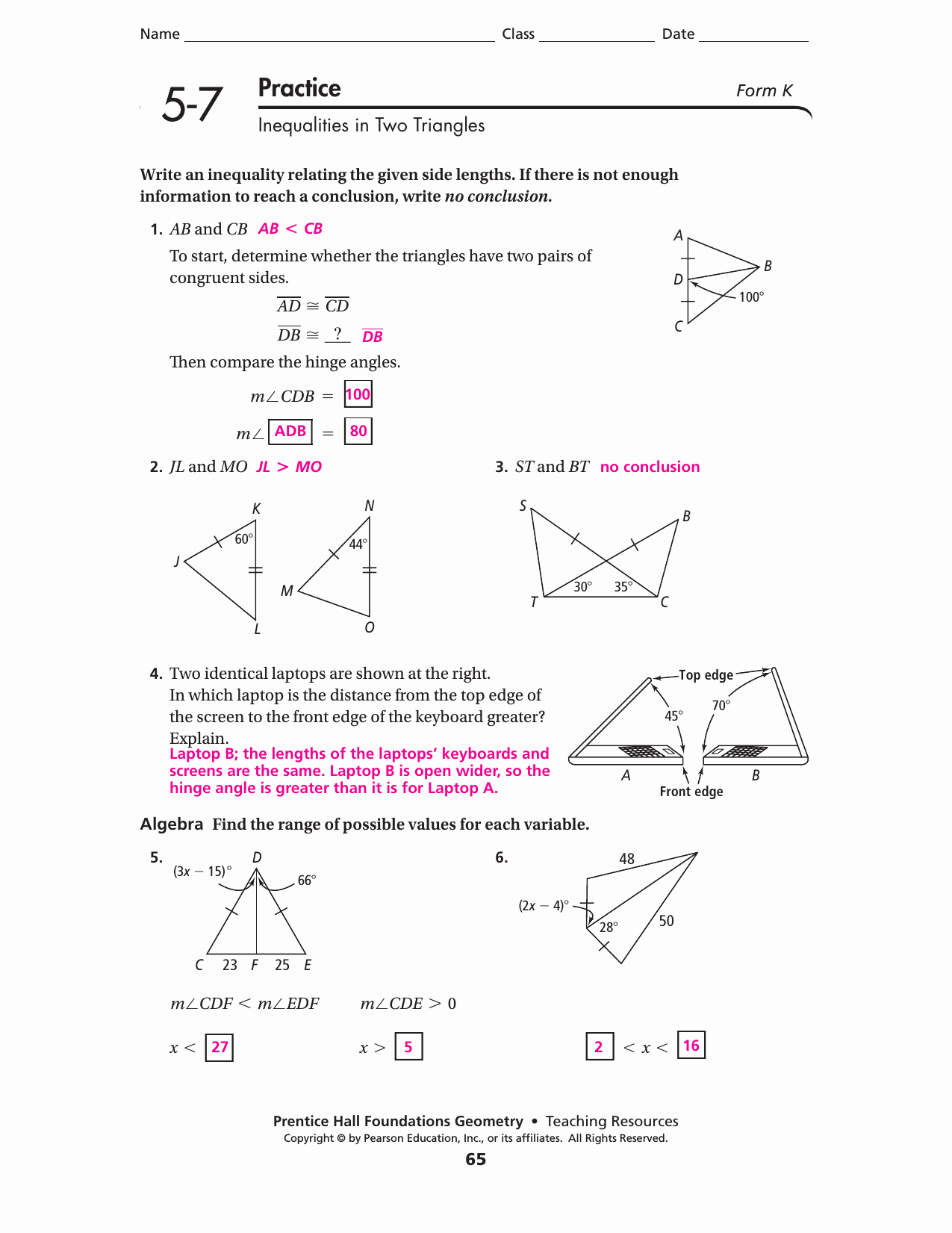 Midsegment theorem Worksheet Answer Key New Worksheet Midsegments Triangles Worksheet Worksheet