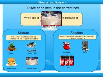 Mixtures and solutions Worksheet Answers Awesome Mixtures and solutions Powerpoint 3rd 5th Grade by