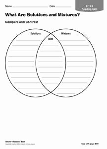Mixtures and solutions Worksheet Answers Awesome What are solutions and Mixtures 3rd 6th Grade Worksheet