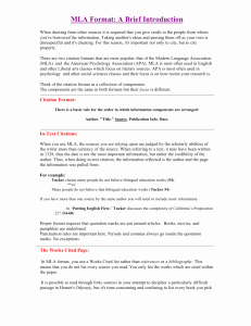 Mla Citation Practice Worksheet Awesome Mla Worksheet Practice Answers
