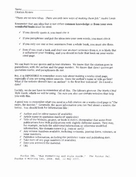 Mla Citation Practice Worksheet Beautiful Citation Review Worksheet Mla formating